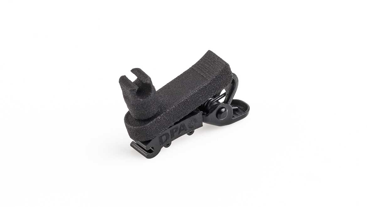 8-Way Clip for 6060 Series Lavalier Microphone (SCM0030-B)
