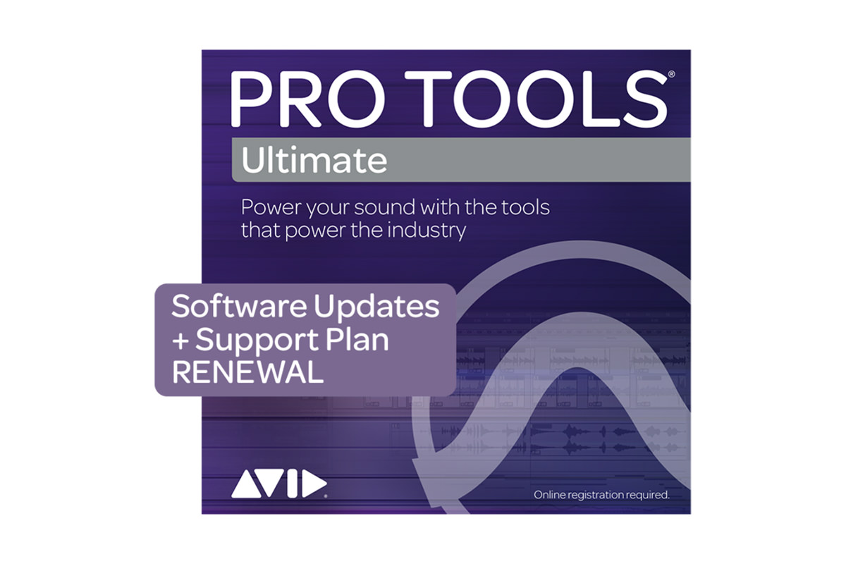 AVID Upgrade and Support Plan (Renewal) for Pro Tools Ultimate