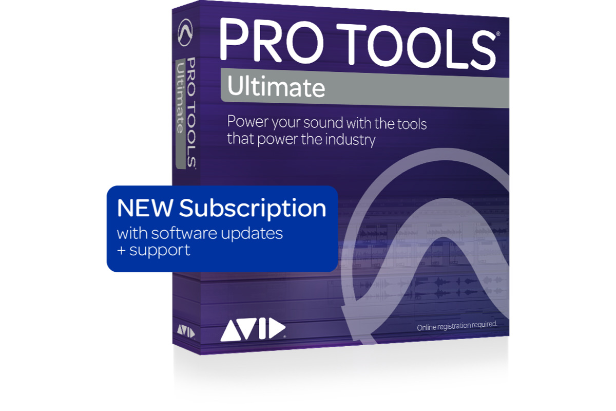 Pro Tools Ultimate Annual Subscription