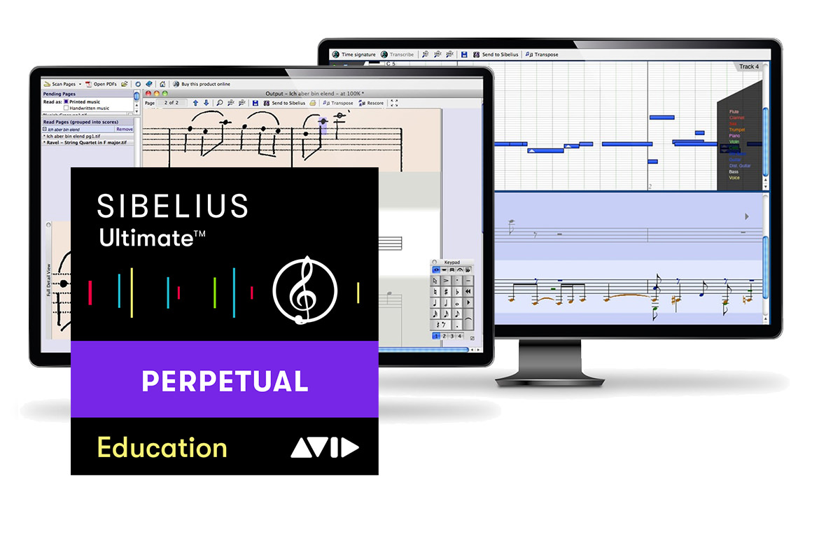AVID Sibelius Ultimate Education + PhotoScore&NotateMe + AudioScore Ultimate