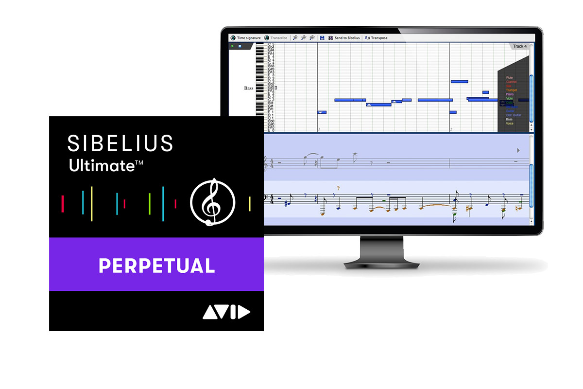 AVID SIBELIUS Ultimate + PHOTOSCORE & NOTATE ME ULTIMATE