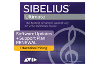 AVID UPDATE+SUPPORT PLAN FÜR SIBELIUS Ultimate Education Verlängerung