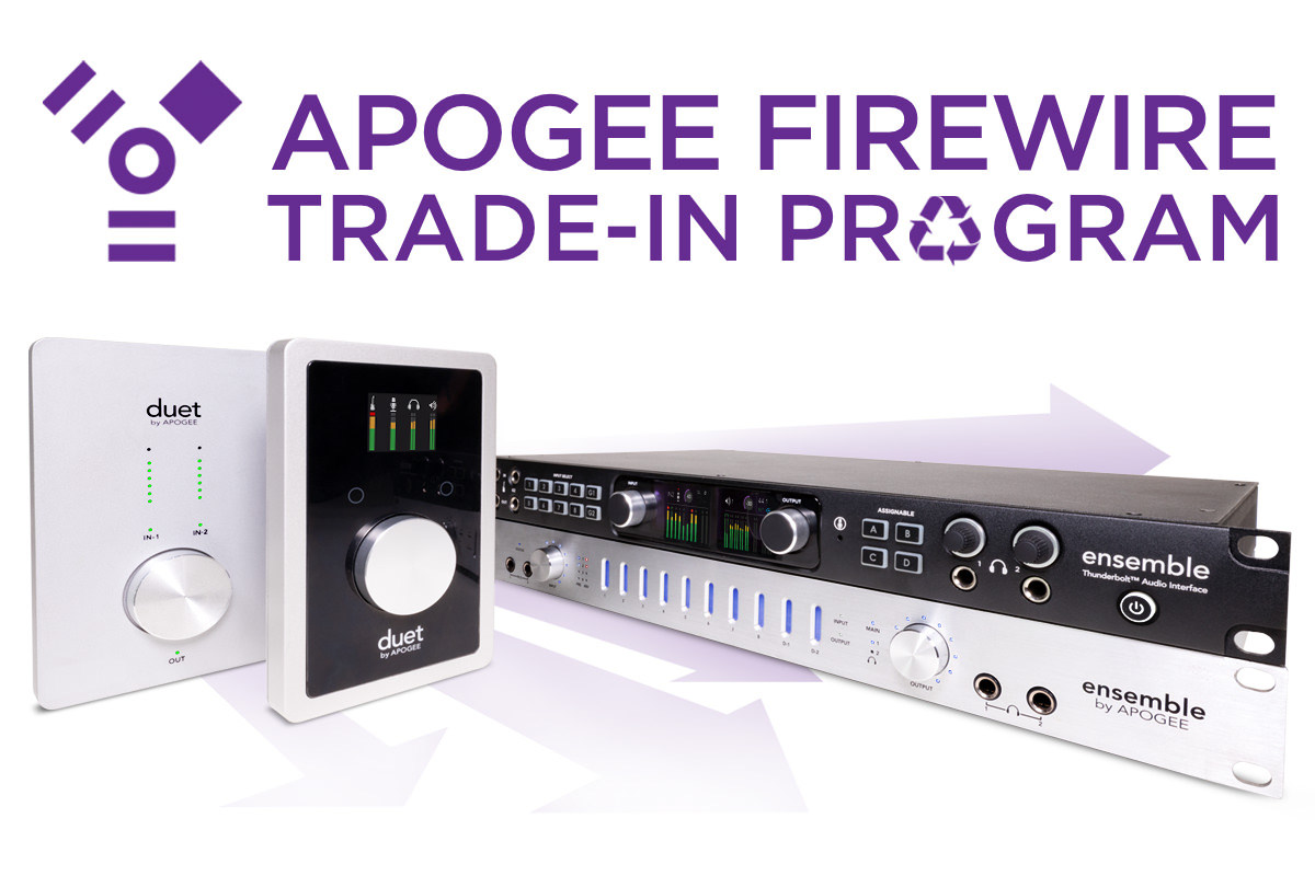 Apogee TRADE-IN Firewire
