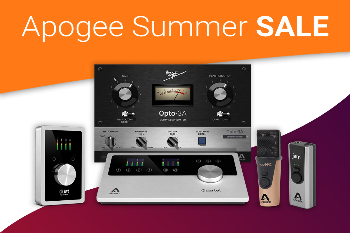 Apogee -Summer Sale 2019