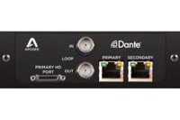 Apogee Symphony I/O MKII Dante Option Card