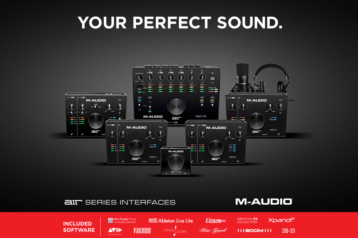 M-Audio Air Series Audio Interfaces
