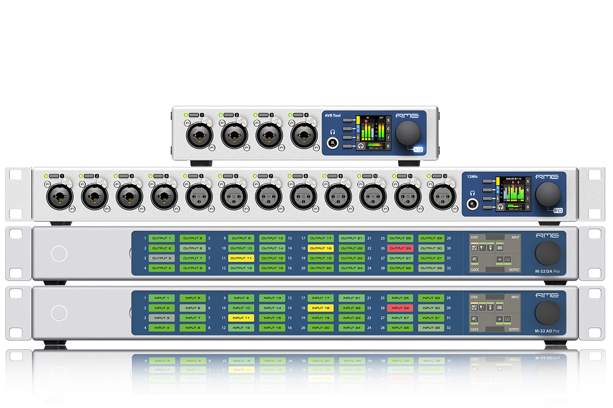RME releases firmware updates for the AVB seriesFirmware-Updates für die AVB-Serie