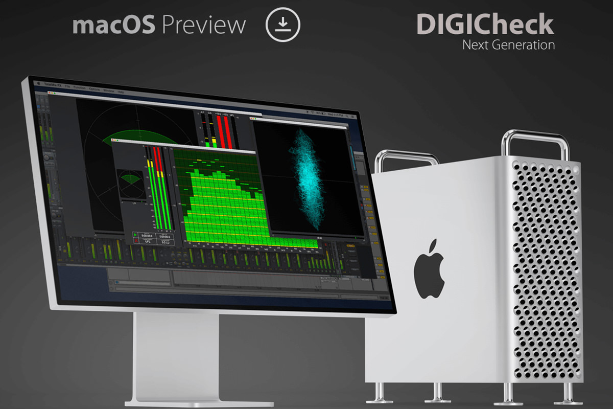 RME - DIGICheck Next Generation macOS preview