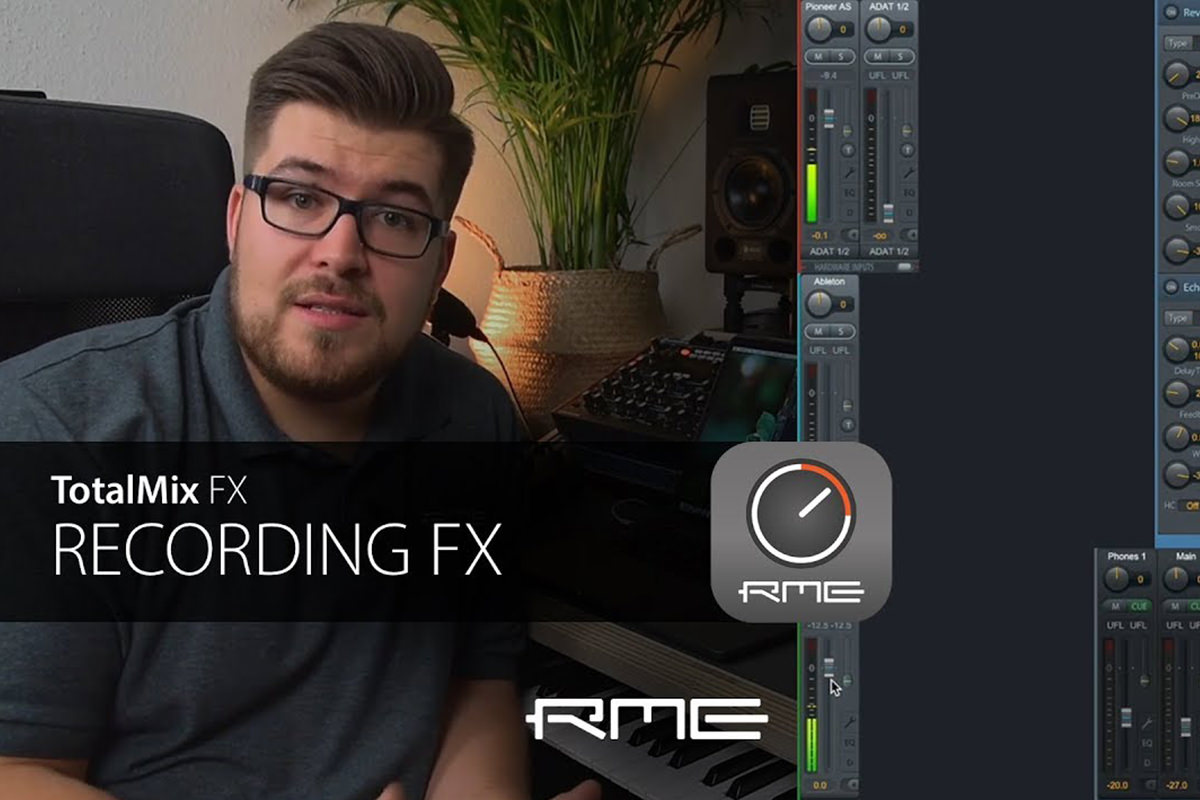 TotalMix FX for Beginners - Recording FX