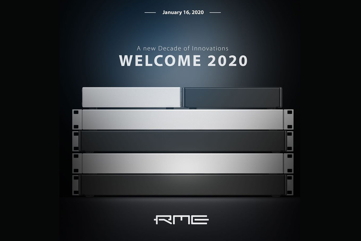 RME sneak a peek NAMM 2020