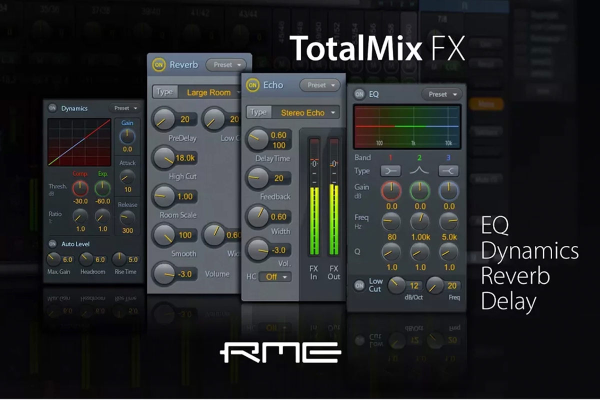 TotalMix FX for Beginners - DSP Effects Overview