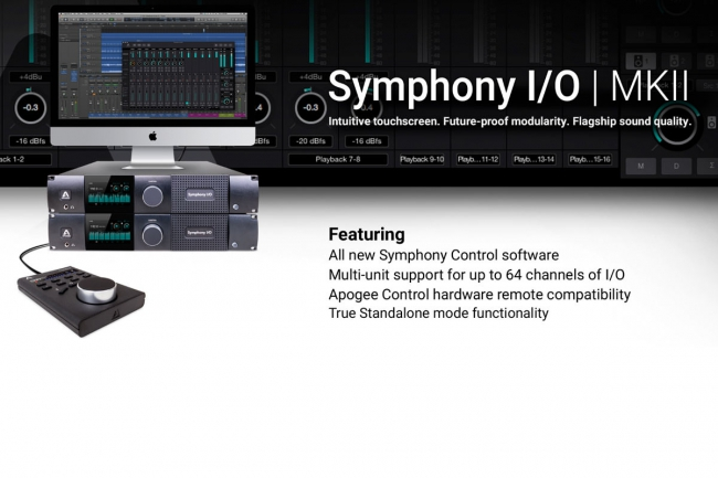 Apogee - Symphony I/O MKII FEATURES UND UPDATES