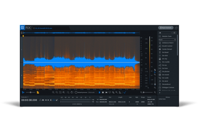 iZotope - RX Post Production Suite and RX 7 upgrades holiday deals