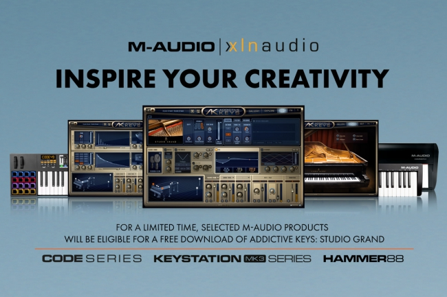 M-Audio - XLN Audio | Inspire Your Creativity