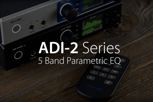 RME Audio - ADI-2 Series EQ Settings