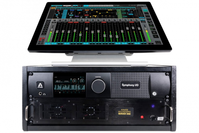 Apogee Symphony I/O Mk II for Waves SoundGrid - Now Available