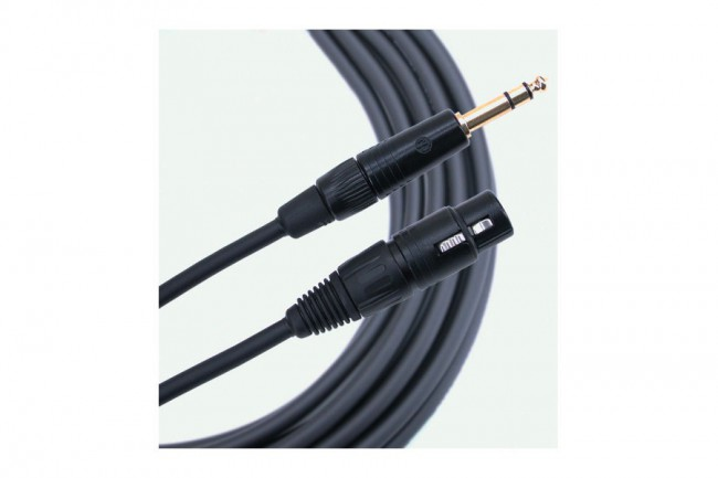 MOGAMI GOLD SERIES, LINE-CABLE SYM. (TRS - XLR F)