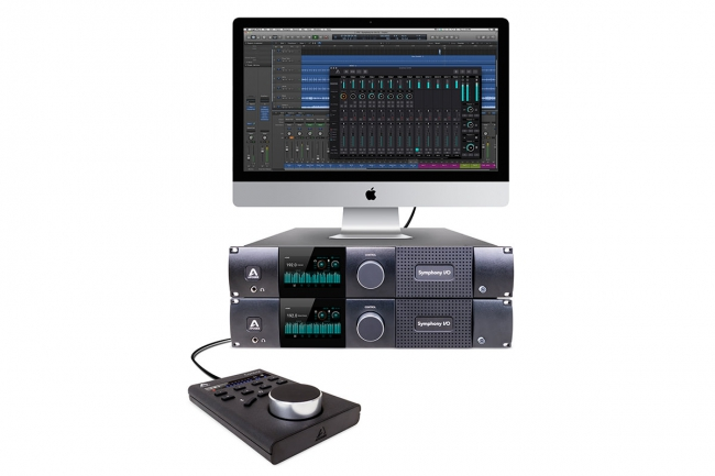 Apogee New Symphony Control Software for Symphony I/O Mk II Thunderbolt Audio Interface