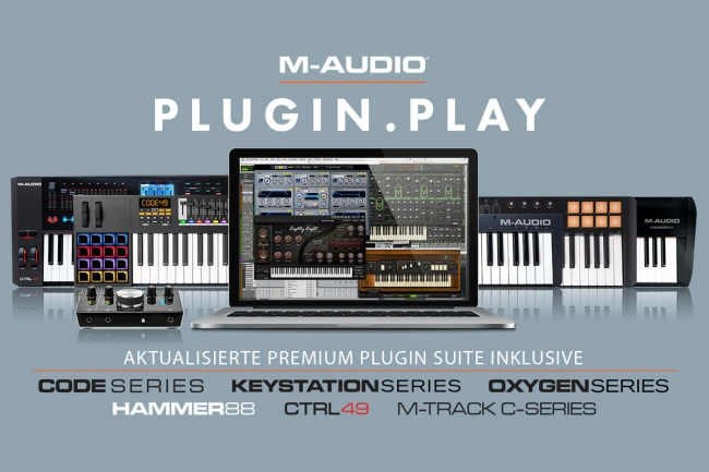 M-Audio - Plugin.Play!
