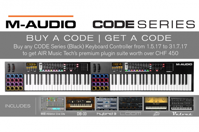 M-AUDIO - BUY A CODE, GET A CODE
