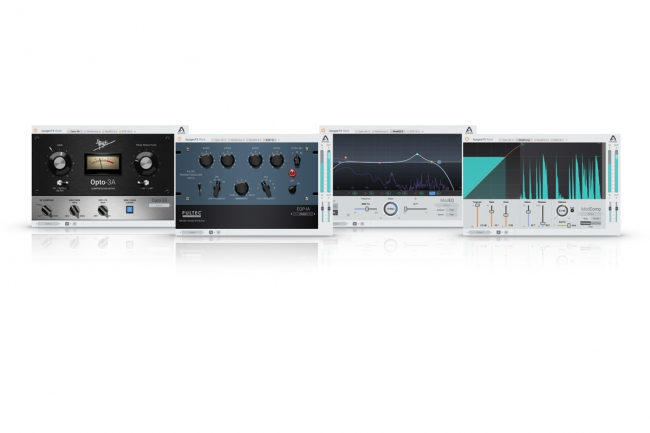 APOGEE FX RACK NATIVE PLUGINS - NOW AVAILABLE TO ENSEMBLE AND ELEMENT SERIES CUSTOMERS IN LIMITED RELEASE