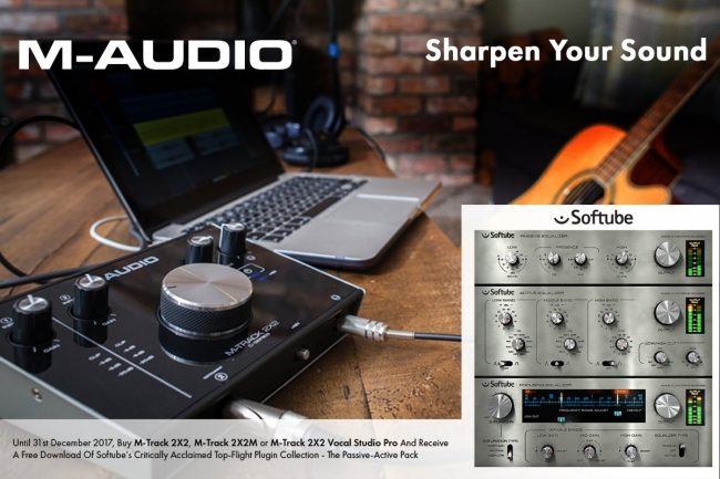 M-AUDIO - M-Track C-Series | Sharpen Your Sound