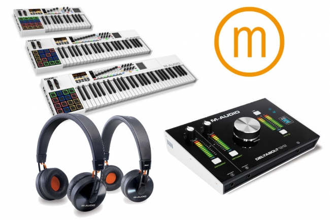 M-AUDIO PRÄSENTIERT PRODUKT LINE UP 2015!