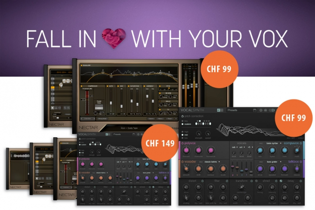iZotope -  Fall in love with your Vox