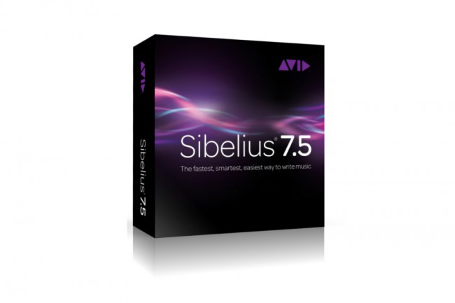 Sibelius 7.5.1 update available