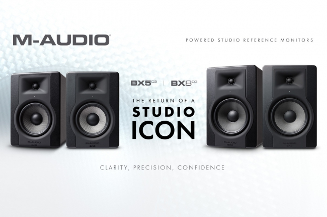 M-AUDIO UNVEILS BX-D3 SERIES