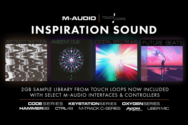 M-Audio - Free 2 GB Soundlibrary and Pro Tools First for M-Audio users