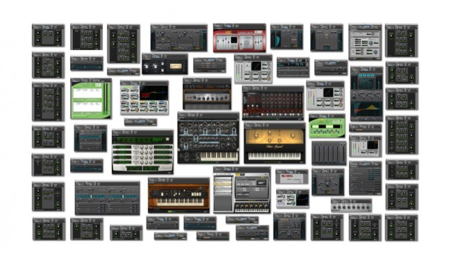 PRO TOOLS 11 VIRTUAL INSTRUMENTS