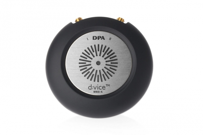 DPA  Introduces Studio-Quality Audio on the Go with the d:vice™ Digital Audio Interface