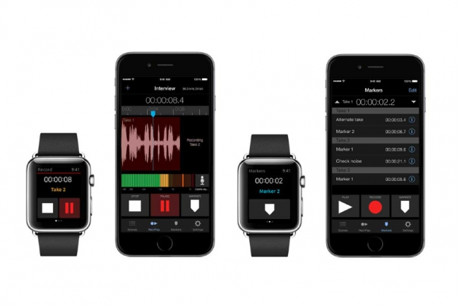 META RECORDER APP FÜR IPHONE & APPLE WATCH