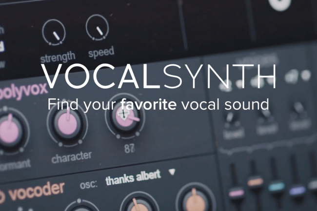 iZotope Vocalsynth -Neues Video