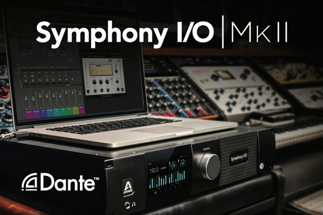 APOGEE PREVIEWS SYMPHONY MKII WITH DANTE ™ OPTION CARD